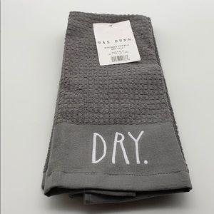 "Rae Dunn ""DRY CLEAN"" Kitchen Towels 2pk"